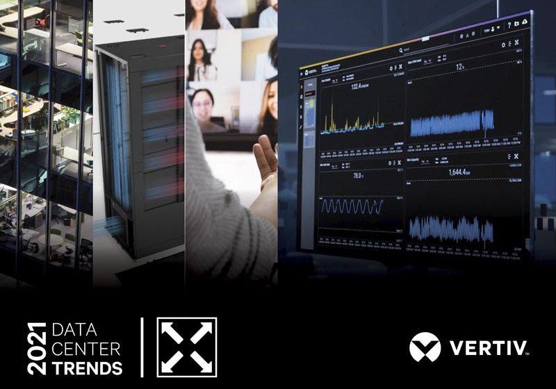 Los expertos de Vertiv prevén que data center serán tan críticos como los servicios públicos en 2021