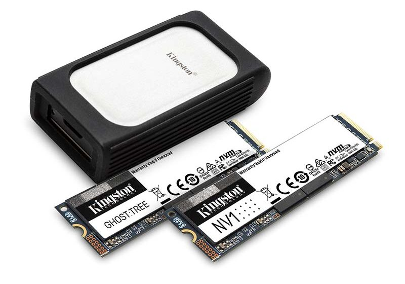 Kingston presenta un avance de su nueva línea de unidades SSD NVMe