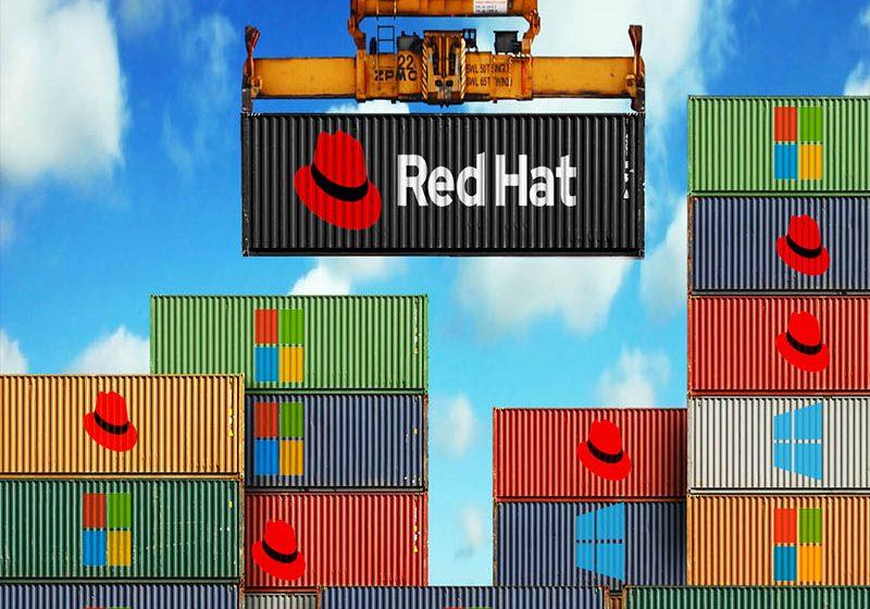Red Hat presenta OpenShift para contenedores de Windows