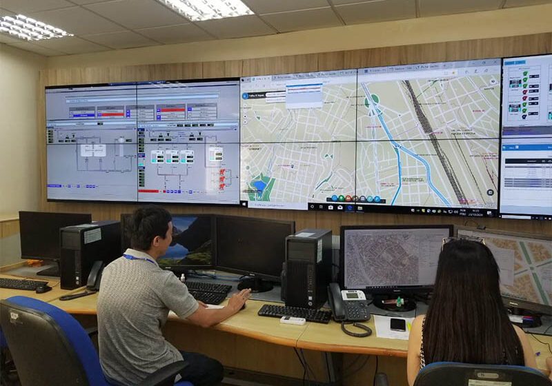 Christie instala paneles LCD de videowall para salas de control de empresa de gestión de agua
