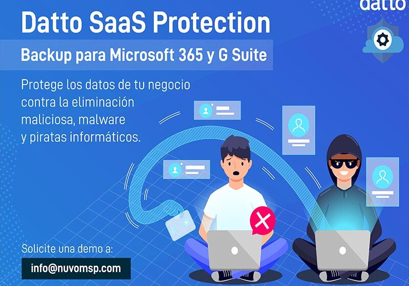 Datto Saas Protection para Office 365 y G Suite