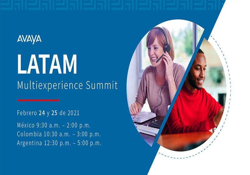 """Avaya presenta el """"Avaya MultiExperience Summit Latam 2021"""""""