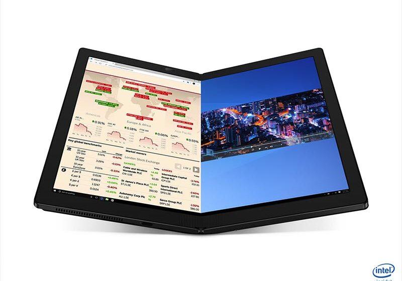 Lenovo ThinkPad X1 Fold: la primera laptop plegable del mundo
