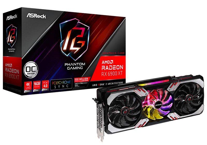 Radeon™ RX 6900 XT Phantom Gaming D 16G OC