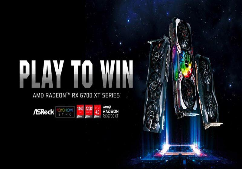 ASRock presenta sus Placas de Video de la serie AMD Radeon™ RX 6700 XT