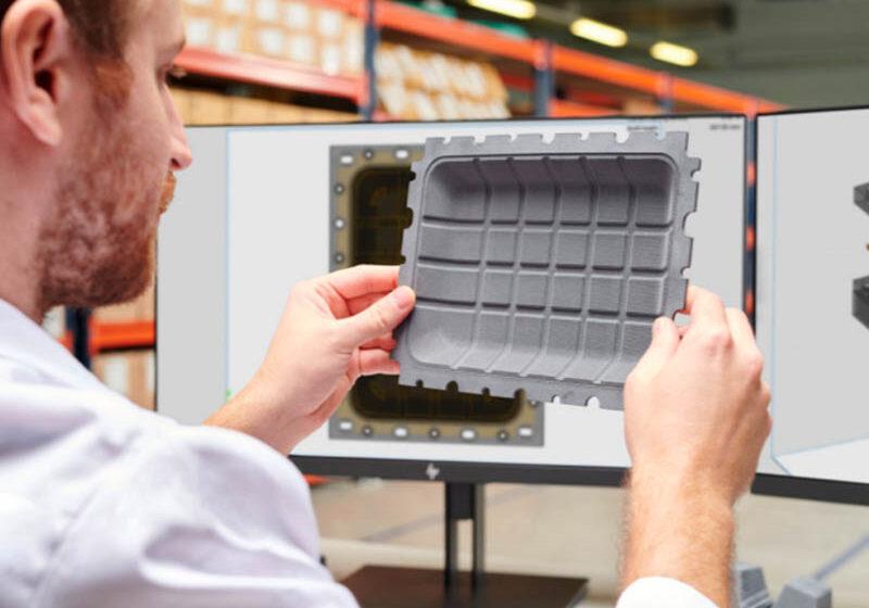HP e Innofibre muestran desempeño del Molded Fiber Advanced Tooling