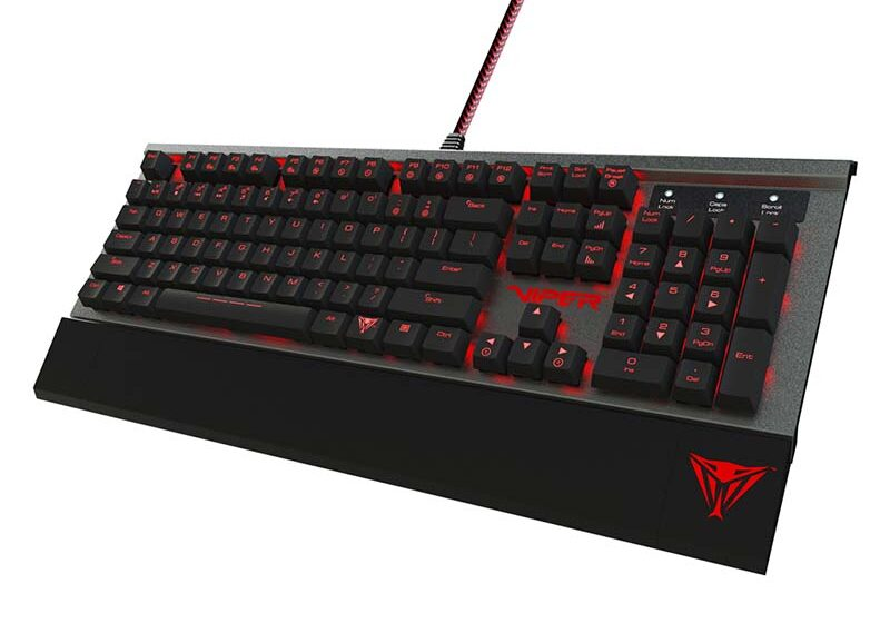VIPER V730, el teclado mecánico de PATRIOT