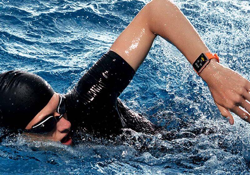 HUAWEI Watch Fit, para medir el rendimiento bajo el agua
