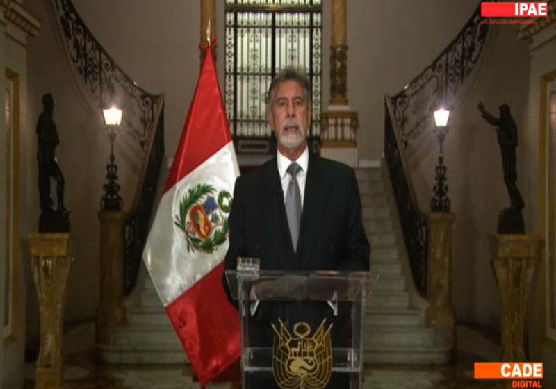 """Sagasti: """"trabajaremos para que la tecnología digital se convierta en un detonante para el crecimiento del Perú"""""""