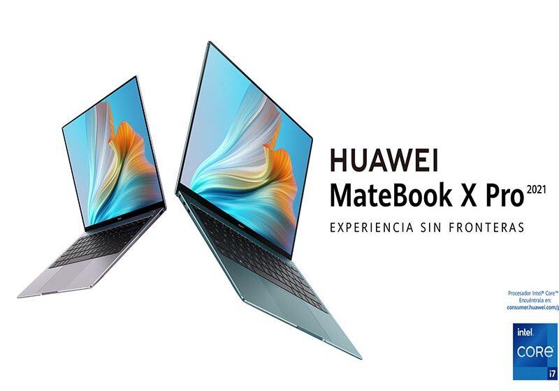 Llegó al Perú la nueva HUAWEI MateBook X Pro 2021
