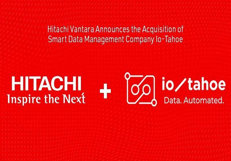Hitachi Vantara adquiere a Io-Tahoe:  empresa de gestión inteligente de datos