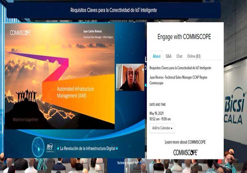 CommScope presenta soluciones para conectividad IoT en BICSI CALA-Colombia 2021