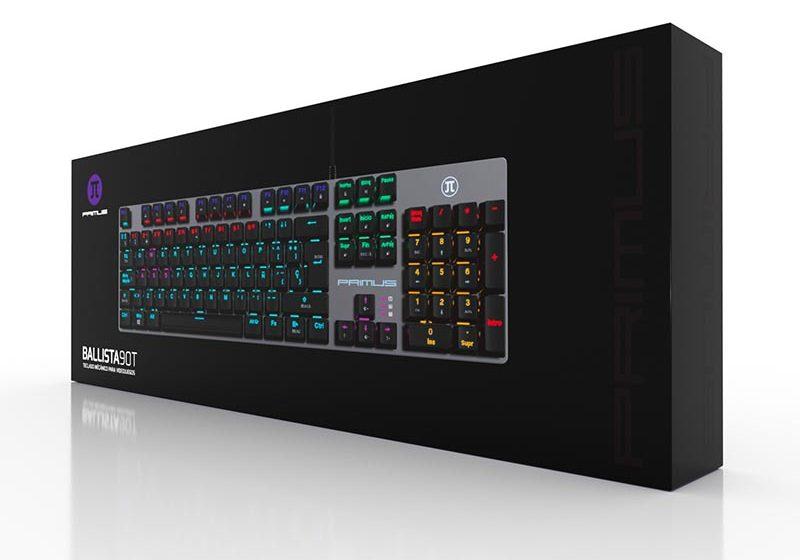 PRIMUS: ¿Por qué el teclado mecánico es mejor para los videojuegos?