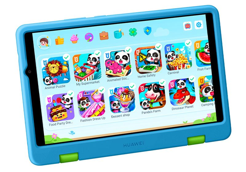 Kids Corner de Huawei MatePad, un espacio para la diversión y el aprendizaje