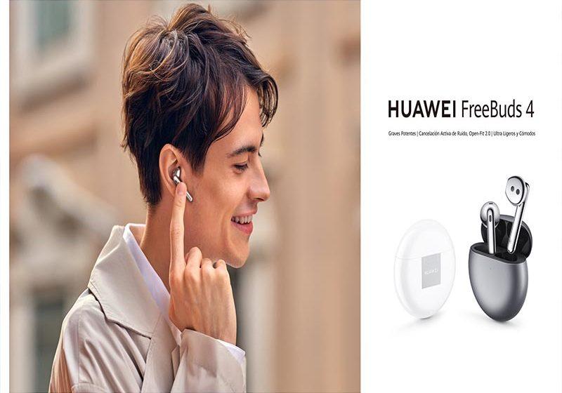 Huawei trae nuevos wearables: FreeBuds 4 y Watch 3