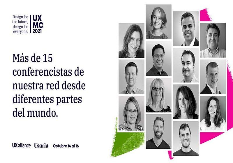 Llega a Latinoamérica la UXMasterclass: Diseño para el futuro, diseño para todos