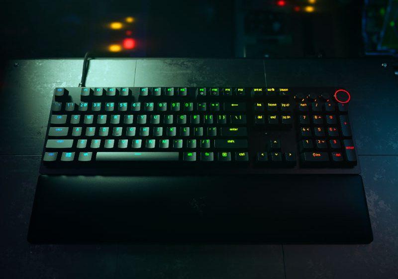 Conoce el teclado más rápido: Razer Huntsman v2